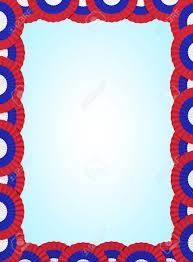 Russia Serbia Fan Folding Ribbon Background