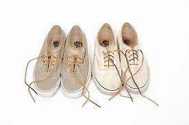 i was considering a pair of vans authentics with some leather laces however despite hearing about multiple people relacing them with leather laces