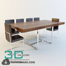 office table models. Office Tables 19 - 3D Mili Download Model Free Models Table B