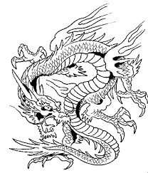 Small Picture Elegant Dragon Coloring Pages For Adults 16 For Your Coloring For