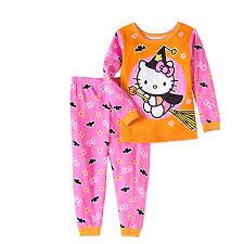 SANRIO Hello Kitty Halloween 2 Piece Baby Girls Pajama Set (9 Months) Amazon.com: