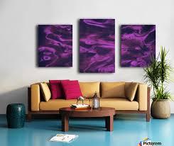 blue pink purple swirls abstract wall