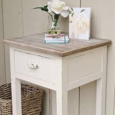 Off white bedside side table. Hover to zoom Click here for a bigger picture
