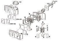 1965 1966 1967 1968 mustang heater core mustangs plus buy 1965 1966 mustang w w o ac 1967 68 w o ac mustang