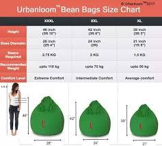 How Many Kilos Of Weight Can An Xxl Bean Bag Bear Quora