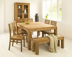 square dining room tables  mino teak kitchen table