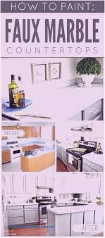 fake marble countertop faux marble paint painting thumb divine diy