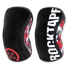 Rocktape Knee Sleeve Size Chart Rocktape Assassins Knee Sleeves Pair