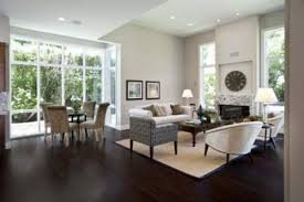 dark brown wood floor. Living Room:Decorate A Small Apartment Room Brown Carpet Combine Wood Also With Fascinating Dark Floor L