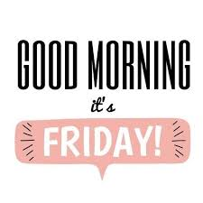 Friday Quotes Simple Good Morning It's Friday Motivational Quote LED Kontoret