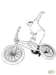 Drawn motorcycle bmx bicycle 70