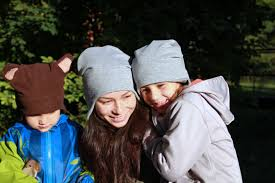 Warm Kids And Ladies Cap Over The Ears Sewing Pattern