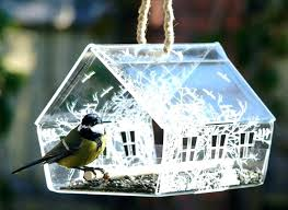 blue glass hummingbird feeder large image for zoom aspect bird cobalt