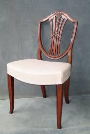 hepplewhite shield dining chairs set:  hepplewhite shield back chairs chair sets of  antique dining chairs