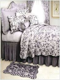 quilts brown toile quilt bedding sets fresh black for cotton duv on california king duvet cover