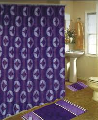 purple bath rug set round bath mat lavender bathroom set