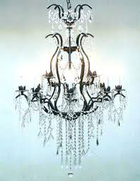 chandeliers rococo crystal chandelier iron and c traditional chandeliers wrought with crystals rod t