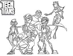 Small Picture Teen titans coloring pages all heroes ColoringStar