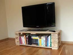diy rustic wood pallet tv stand