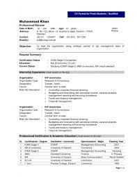 Freshers CV Format   Freshers CV Format  Name  ABC XYZ Qualification  MSW  HRD   B Com Email ID