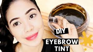 diy eyebrow tint using food coloring does it work eyebrow tattoo effect beautyklove