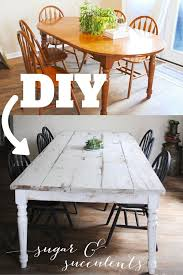 best 25 painted farmhouse table ideas
