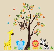 29 jungle theme wall decals for nursery nursery jungle animals wall decals rosenberryroomscom mcnettimages com