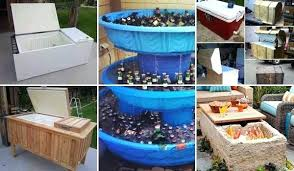 diy patio ideas pinterest. Diy Backyard Party Decorations Clever Outdoor Cooler Ideas Let You Keep  Cool In The Summer . Patio Pinterest B