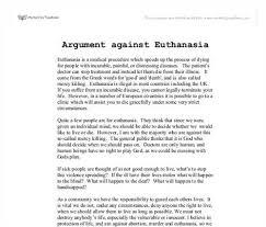 argumentative essay on mercy killing argumentative essay on euthanasia customwritings com blog