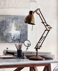 desk lamp on desk. Plain Desk Enzo Classic Architect Desk Lamp  Articulated Task Light And On A
