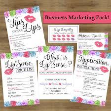 Lipsense Business Cards Lipsense Tips Tricks Lip Sense Business