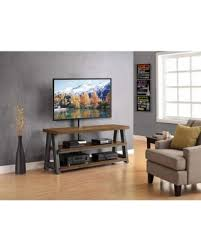 better homes and gardens tv stand. better homes and gardens mercer 3-in-1 brown tv stand for tvs up tv h