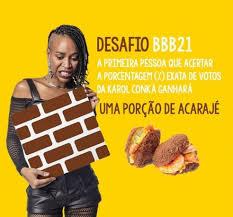 Restaurantes de MT prometem prêmios e descontos para quem acertar  percentual de eliminação de Karol Conká do BBB | Mato Grosso