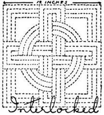 Free+Hand+Quilting+Patterns | ... for Quilter » Blog Archive ... & Hand Quilting Patterns: Nancy-Page-Quilting-Design-Interlocked Adamdwight.com