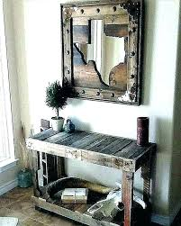 rustic wood framed mirrors. Mirror With Wood Frame Large Rustic Framed Mirrors Wooden Frames Wall And Metal Reclaimed U