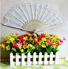 spanish hand fans. 2017 lace hand fan wedding bridal fans craft handmade spanish dancing party decoration multi colors h124 from beautygarden, $11.06 | dhgate.com
