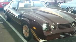 1980 Chevrolet Camaro Z28 Brown Color - YouTube