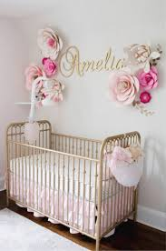 baby name sign for nursery girl wall letters wooden letters image 0