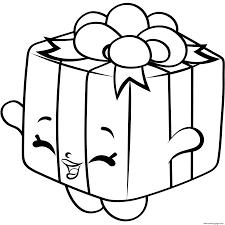 Gift Tag Coloring Page Coloring Pages 1475854409gift Box Shopkins Season Giftg