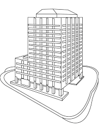 Small Picture Skyscraper coloring page Download Free Skyscraper coloring page