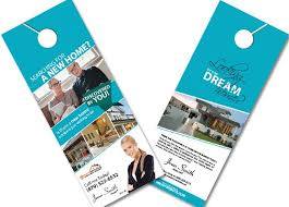 door hanger design real estate. Real Estate Door Hangers Creative Hanger Realtor Design T
