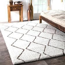 moroccan white rug fabulous trellis rug of amazing savings on handmade striped white black and white moroccan white rug
