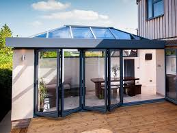 bifold doors patio doors lantern
