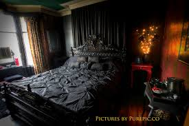Gothic Style Bedroom Furniture Stripy Tights And Dark Delights Gothic Guest Houses
