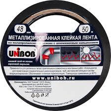 <b>Лента</b> металлизированная <b>Unibob</b>, 48 мм х 50 м в Москве ...