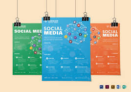 Social Media Design Templates 3 Layout Social Media Flyer Design Template In Psd Word Publisher