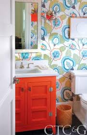 78 Best Orange Bathrooms Images On Pinterest  Bathroom Designs Colorful Bathroom