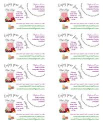Free Address Labels Samples MY Scentsy LabelsTagsSample Labels Using Avery T YouTube 11