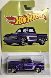 2019 Hot Wheels American Pickup Truck #9 Custom 69 Chevy Pickup