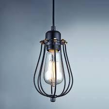 vintage industrial metal cage pendant light chandelier lighting with antique wire cage pendant light lighting fixtures